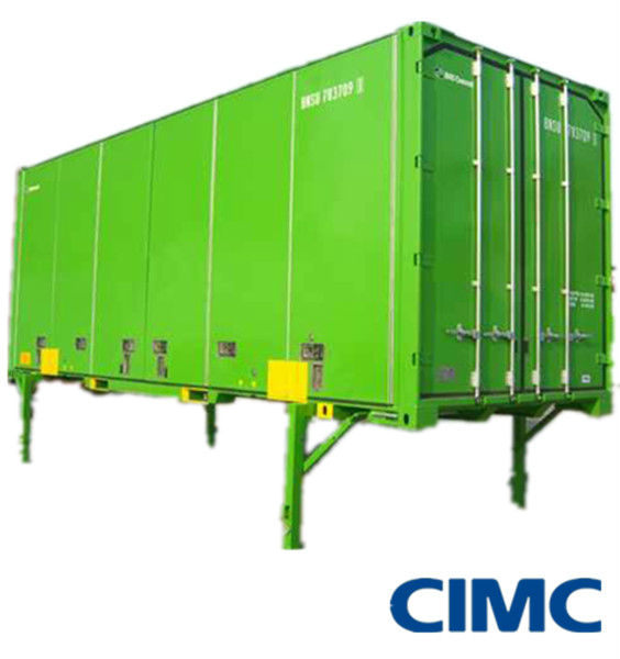 25ft wissellaadbak droge lading container container for Container en francais