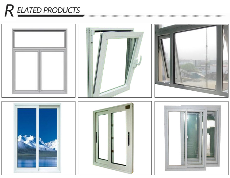 2018 Hot Sale Cost-Effective UPVC Sliding Windows