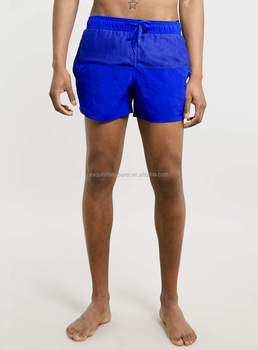 697415b2a9 Mesh/Nylon Waterproof Blank Islamic Swim Shorts / 100 % polyester  Waterproof plain Mesh Contrast