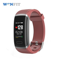 Wonfit personalised bands fitness monitoring color bracelet watch android gps smart bracelet