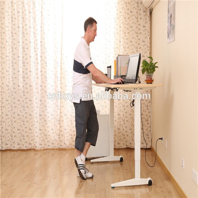 ar-kw three legs table height adjustable desk with low price