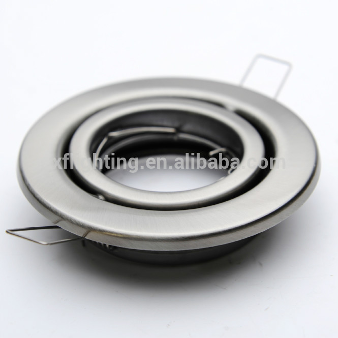 Recessed Down light Housing GU10 MR16 Round LED Down light Accessories