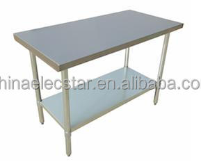 NSF Approval Commercial Stainless Steel Worktable