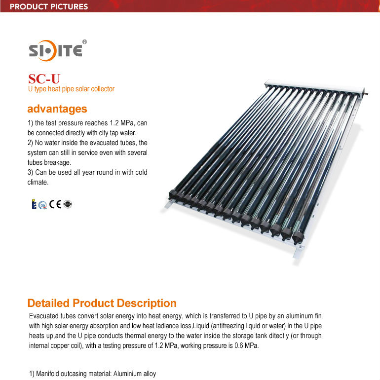 Aluminium Profile for Low Price High Quality Solar Flat Collector