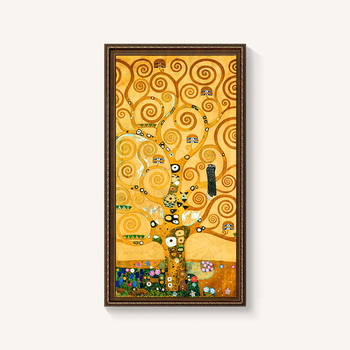 famous abstract art paintings of the tree of life canvas print wall art pictures