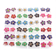 Best fimo ear stud earring tinny flower for kids KFE14726