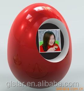 egg digital photo frame for friend