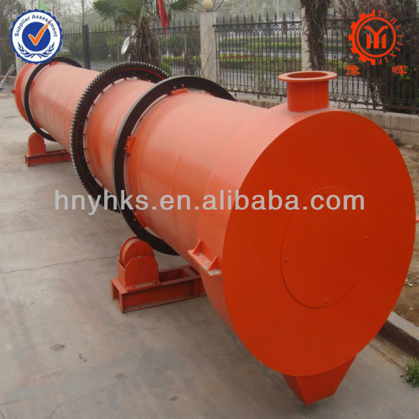 quartz sand rotary dryer