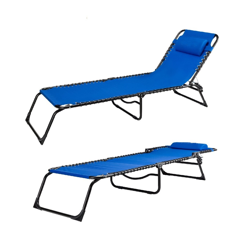 Outdoor furniture garden yard pool beach camping sleeping chaise lounge bed