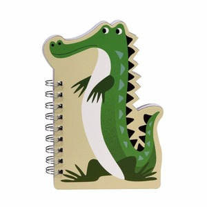 Animal Shaped Spiral Bound Kids Notebook
