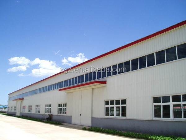 pre engineered rigid airplane hangar large