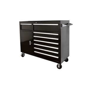 Light arbitrary movable tool cabinet workbench with hanging board for workstation