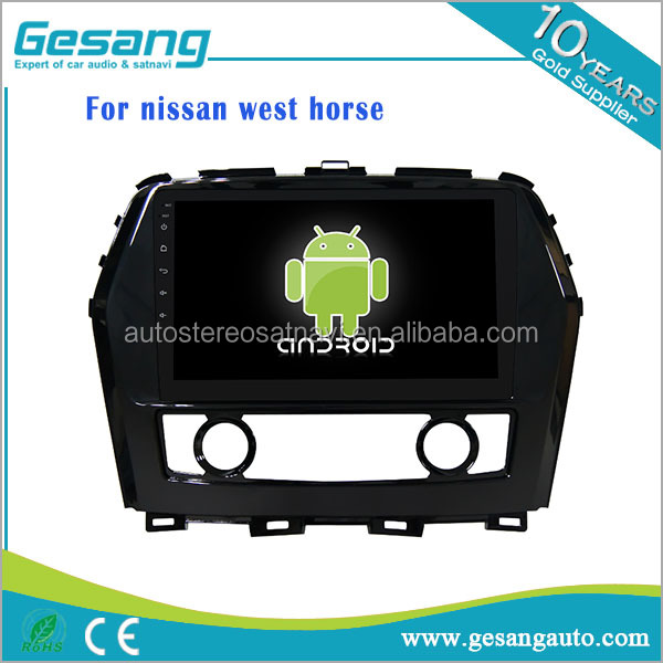 Auto navigation multimedia system Android 6.0 Car DVD player for nissan west horse with gps wifi support 3G/4G