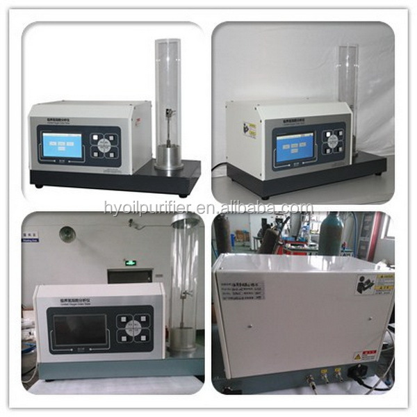 ISO4589 ASTM D2863 LOI Tester for Burning Material Limited Oxygen Index Testing