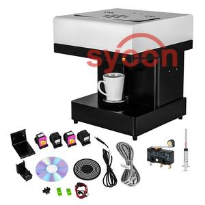 2018 selfie Latte coffee printer for Coffee Cappuccino Milk Biscuit Ice cream Beer Chocolate Macaron printing with edible ink