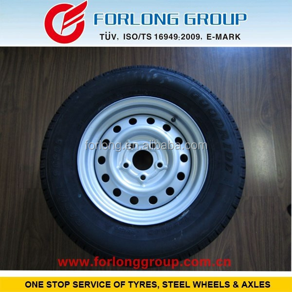 GOODRIDE TRAZANO WESTLAKE brand ECE and TUV certificate 185R14C8 5X112 small wheels and tires