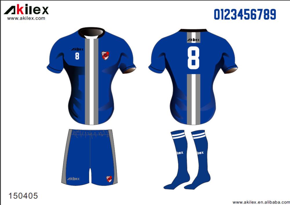 482d0e2b3c15d 2016 saison chaude conception entièrement sublimation uniformes de football