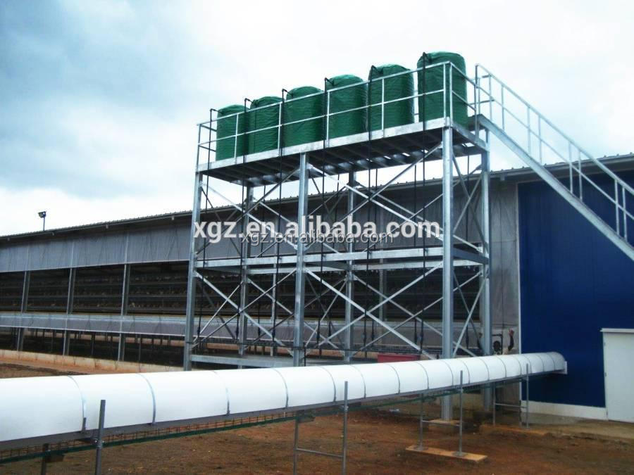low cost steel structure modern design layer chicken cages for kenya poultry farm