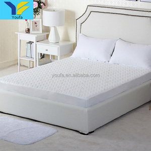China supplier white hotel mattress protector hypoallergenic waterproof mattress protector