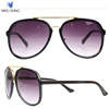 China Factory Direct Sale Unisex Designer Fashion Big Cheap Plastic Sunglasses