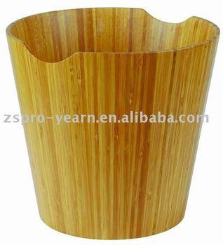 Bambus Holz Papierkorb Mulltonne Mulleimer Mulleimer Mit Kreisenden