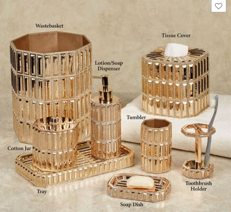 Gold Plated Bathroom Accessories, Gold Plated Bathroom Accessories  Suppliers And Manufacturers At Alibaba.com