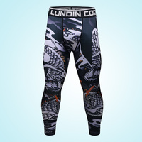 Custom Sports Athletic Wear Mens Compression Running Gym Leggings For Soccer Training