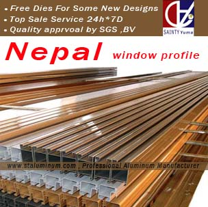 aluminum windows cost in india