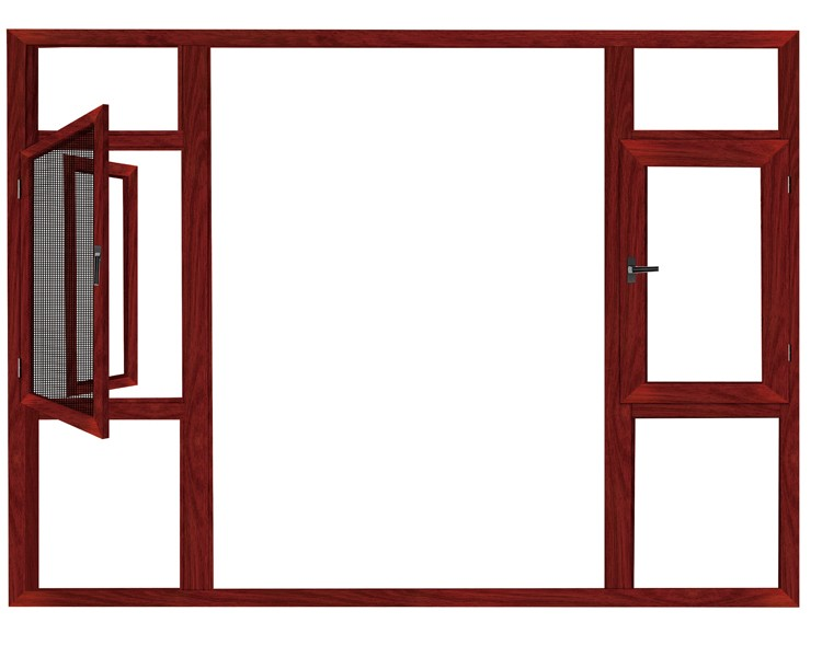China manufacturers low price low e glass aluminium window for Aluminium window frame manufacturers