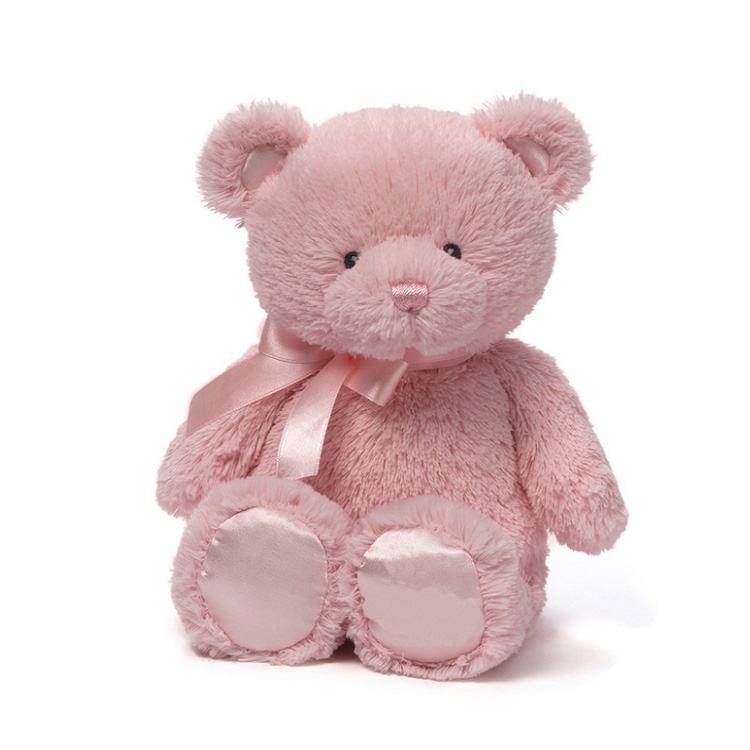 Fluffy Lovable Gifts Sitting Bear With Satin Plush Stuffed Toy - Buy Plush Stuffed Toy,Bear Plush Stuffed Toy,Bear With Satin Plush Stuffed Toy Product on ...