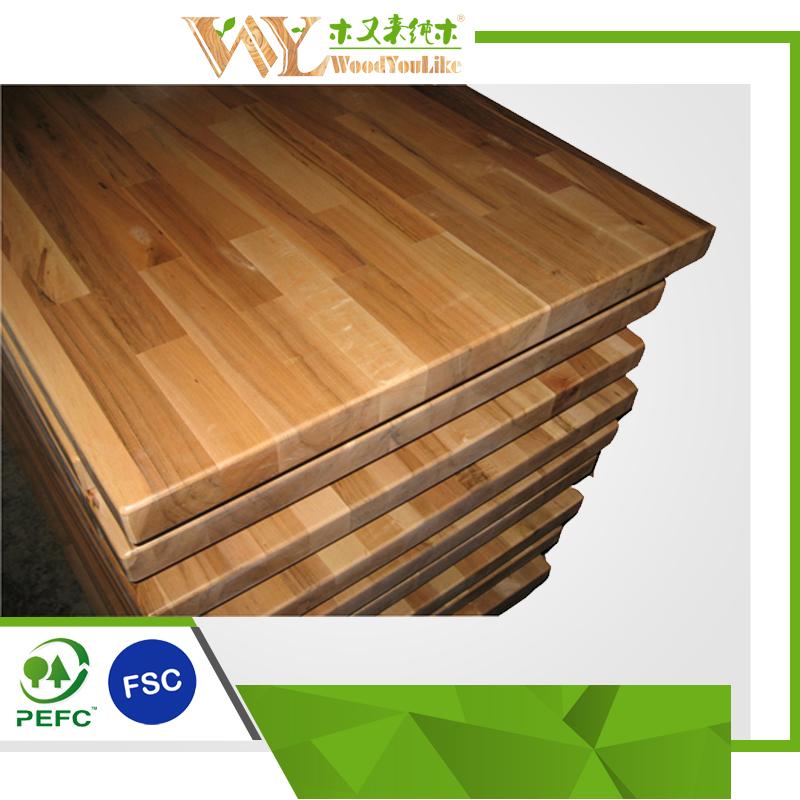 encimera de madera de arce encimera de cocina de madera maciza