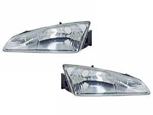 Dodge Intrepid New Replacement Headlights Set Headlamps Pair