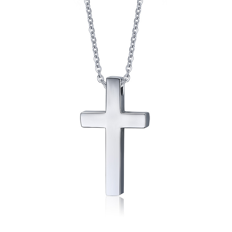 General Charm Design Child Crucifix Cheap Blank Cross Pendant with Christ