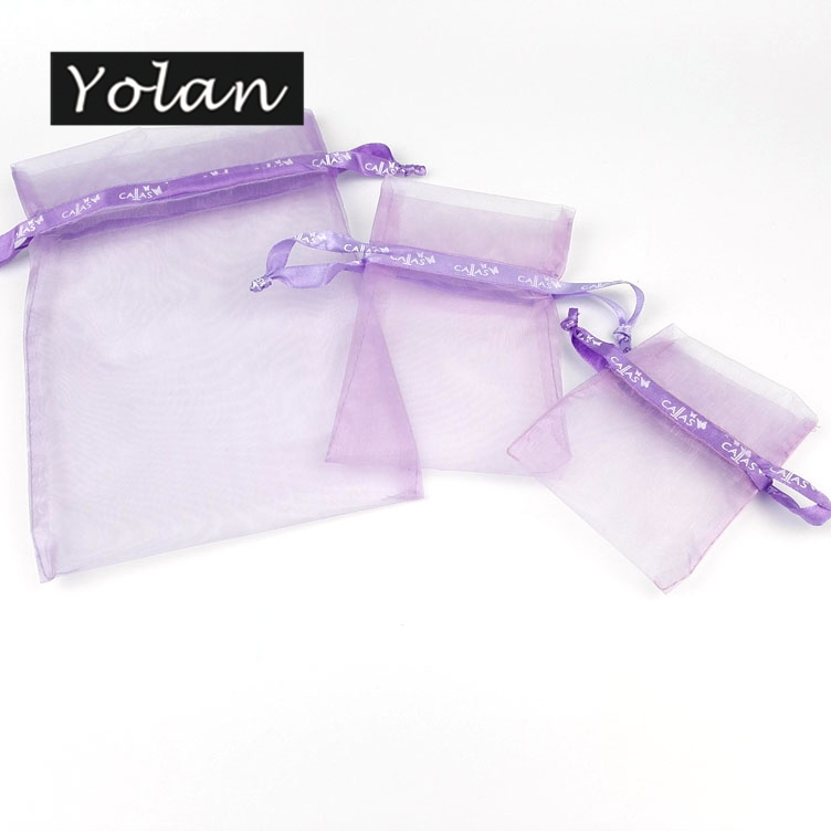 manufacture custom printed organza bag