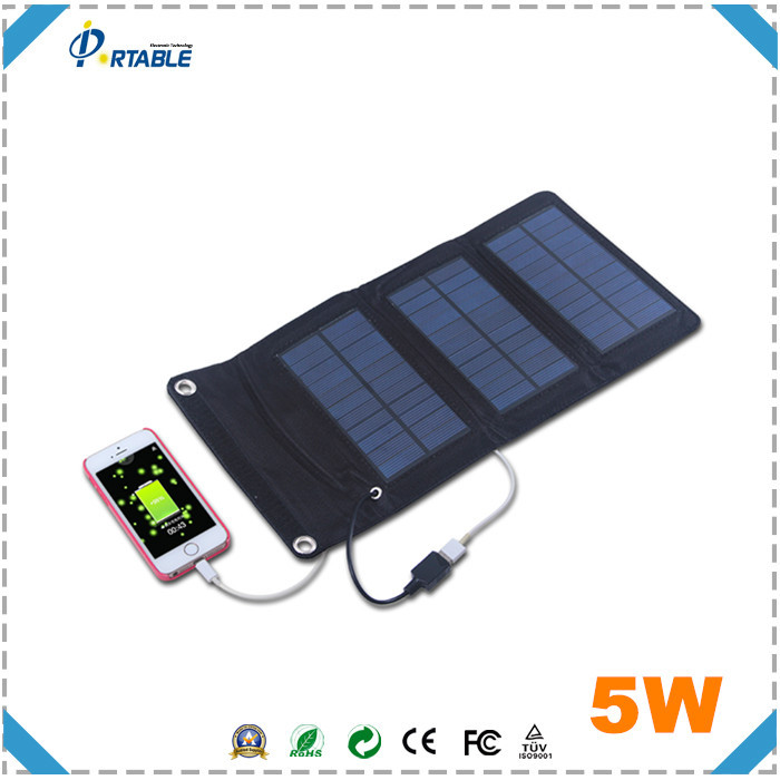 solar portable charger hottest selling back pack 5w mobile solar charger for mobile phone powerbank etc