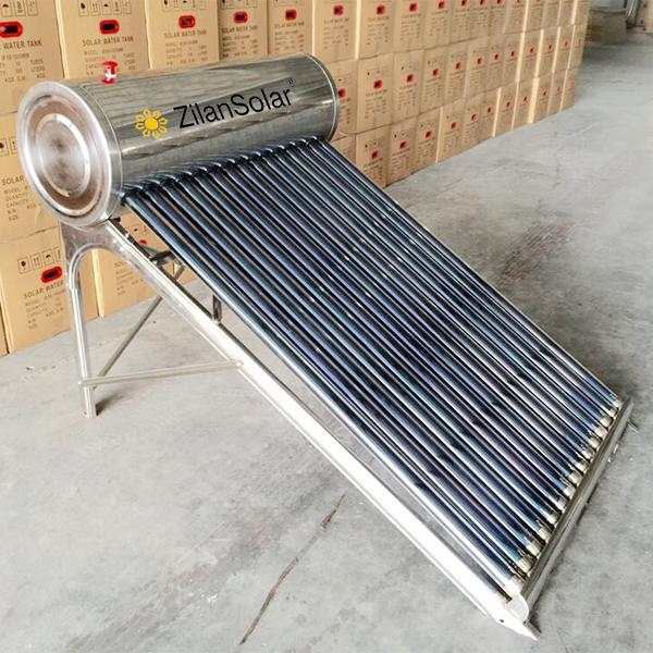 solar power livestock water tank heater