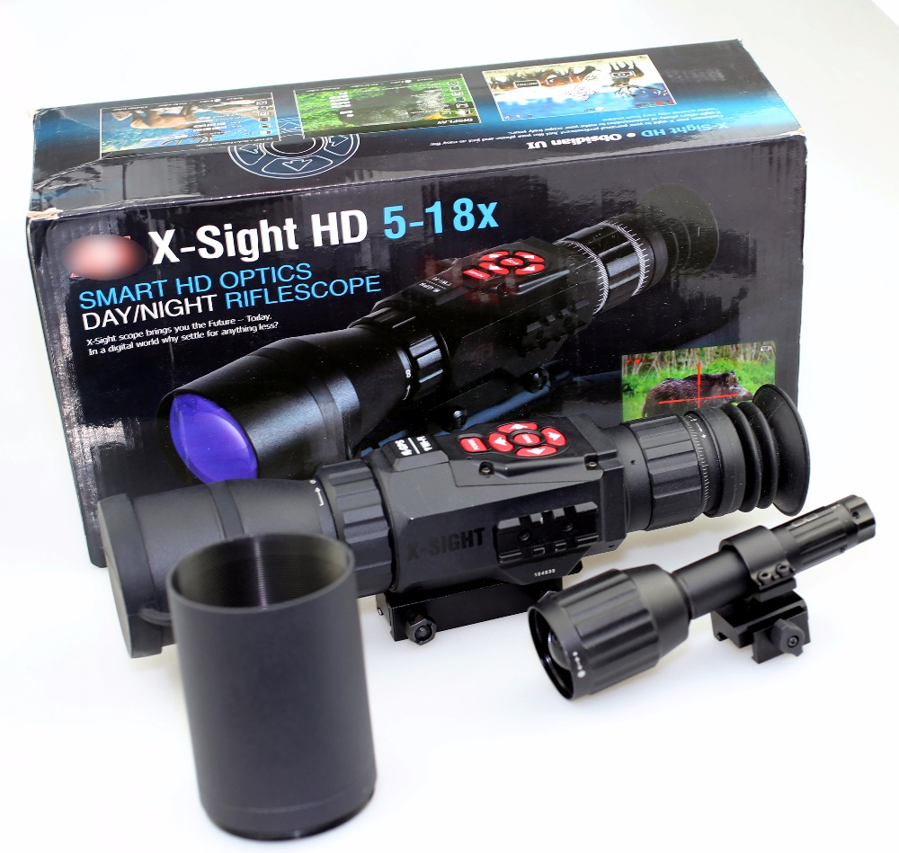 SPINA OPTICS X-Sight II HD 5x-18x Day & Night vision Riflescope DGWSXS520Z 5-18x hunting free shipping