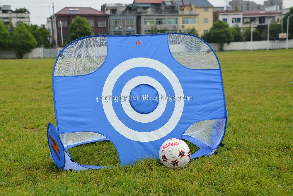 New pop up soccer goal wire steel soccer goal