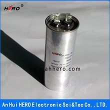 CBB65 capacitor 45UF 450VAC execellent quality metalized polypropylene film ac capacitor