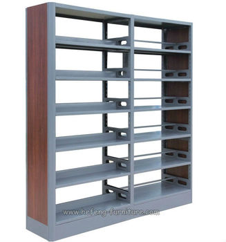 Library Furniture Supply Classic Bookshelf Open Book Display Shelf Cabinet Designs Elegant And Durable