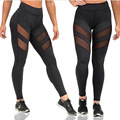socks tights leggings fitness sports for women Gym leggings Black mesh Sexy Yoga Pants lace leggings