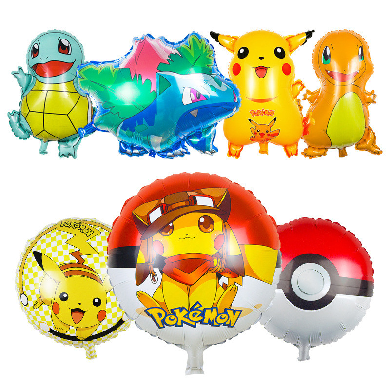 China Products Japanese Cartoon Character Pokemon Charizard Fire Dragon  Aluminum Helium Foil Balloon Kids Gift Birthday Toy - Buy Japanese Cartoon
