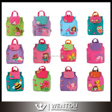 Wholesale Monogram Animal Quilted Toddler Backpack