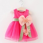 2020 New Fashion Flower Girl Dress Party Birthday wedding princess Toddler Girls Clothes baby girl's princess dress