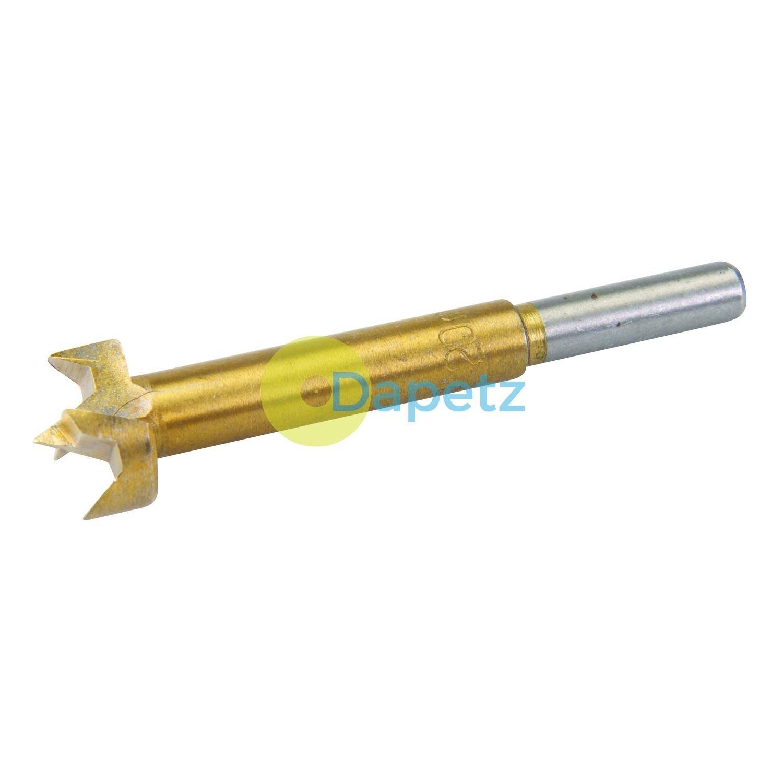 Dapetz Forstner Drill Bits Hinge Cutter Borning Hole Titanium Coated Drillng Wood 20mm