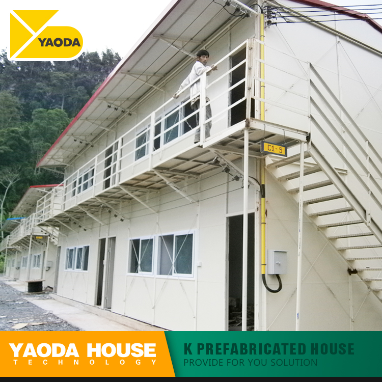 chinese prefabricated house two storey low cost prefabricated light steel frame house floor the prefab house