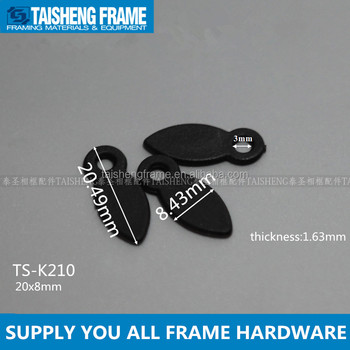 Tsk210 Plastic Turn Button In Black Photo Frame Hardware Picture ...