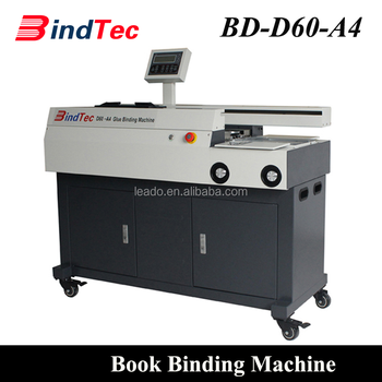 BD-D60-A4 A3 A4 Perfect Book Binding Machine