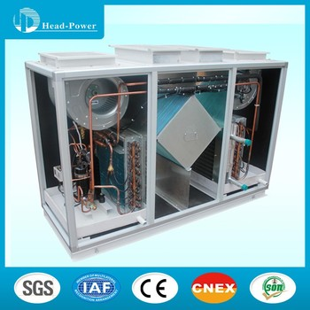 Dx Cooling Coil Hvac Type Heat Recovery Fresh Air Handling Unit