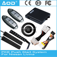 Automatic car door opening system PKE push button remote start for Livina